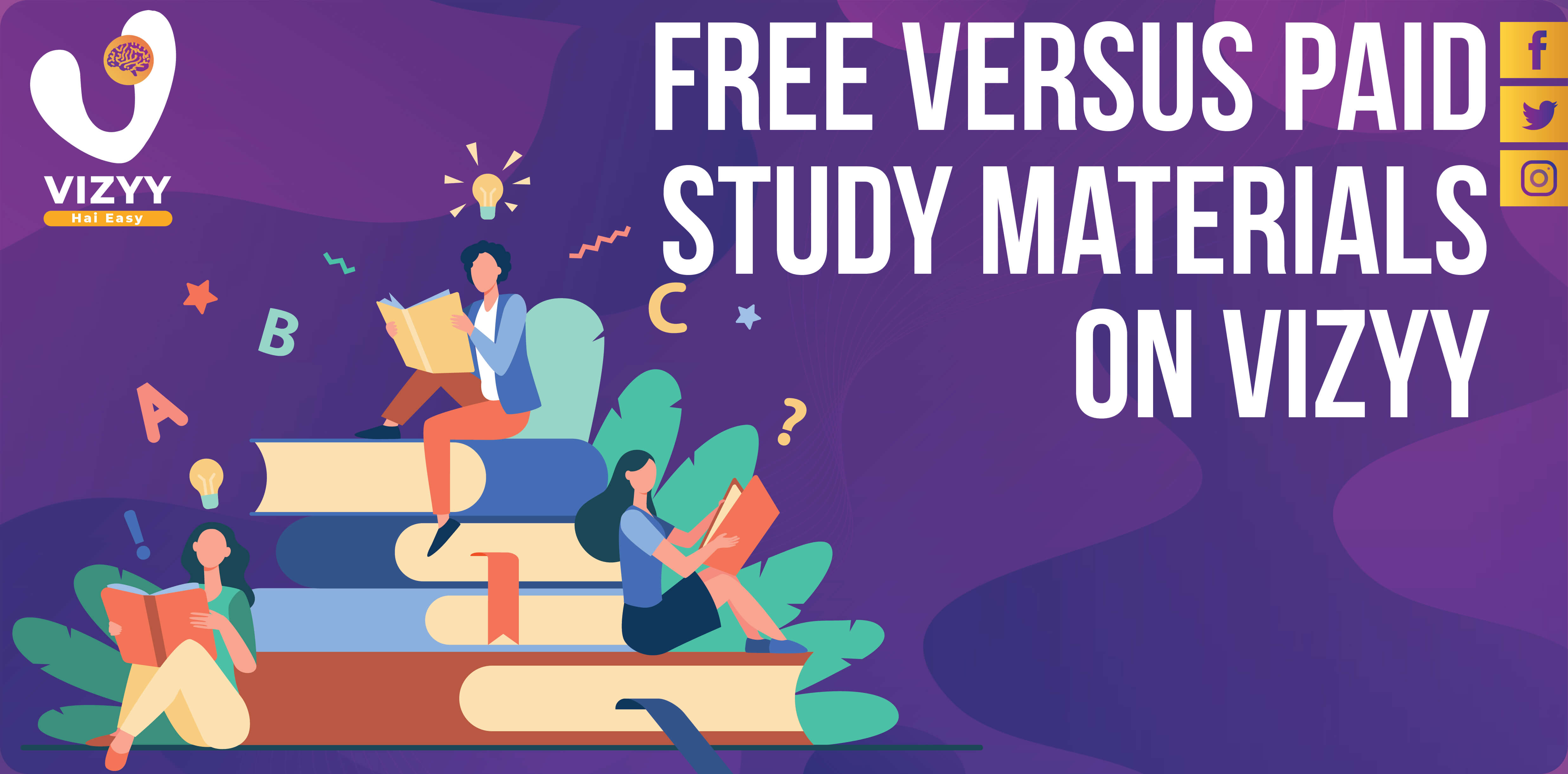 Free Versus Paid Study Materials on Vizyy