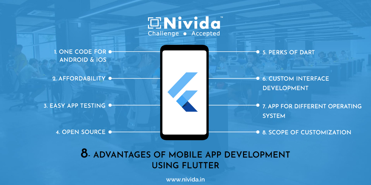 8 Advantages of Mobile App Development Using Flutter